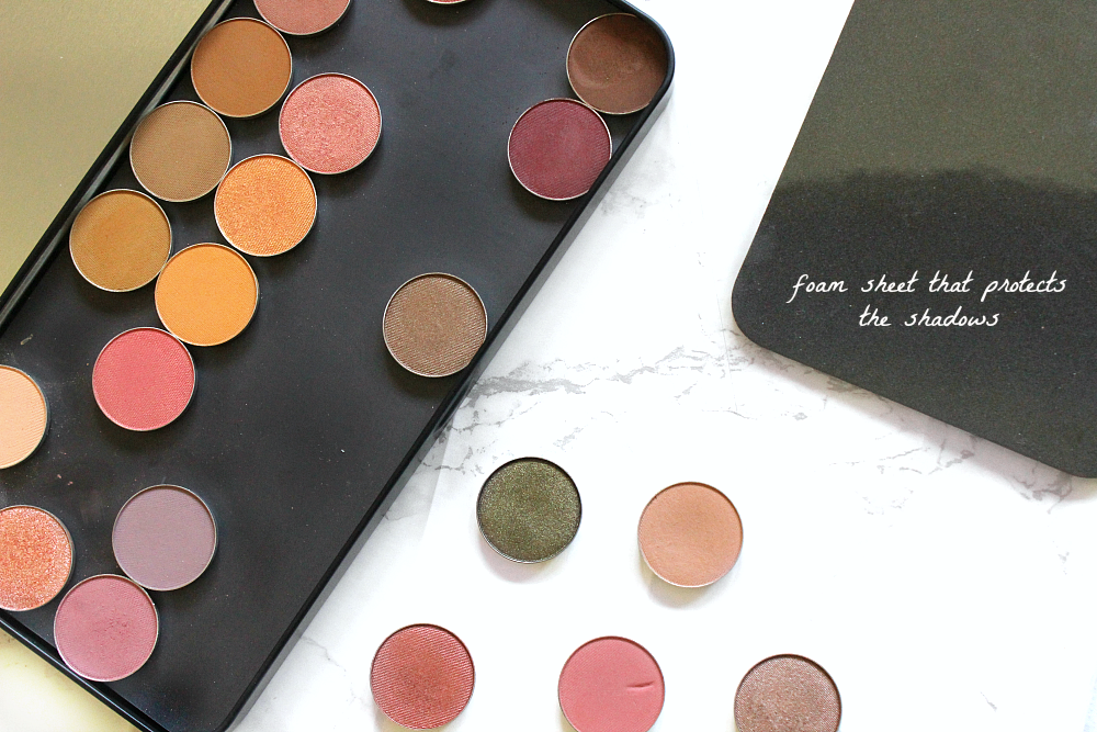 Make up geek eyeshadow collection beautybay UK make up for ever empty palette large