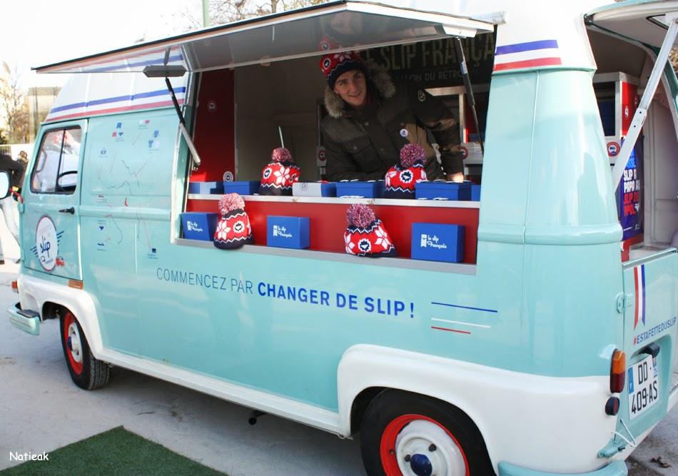 Le slip françaisTéléthon 2014 Food Truck party sur le Champs-de-Mars