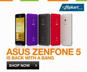 Back in Stock: Asus Zenfone 5 A501CG (8GB) for Rs.10000 Only (For SBI Credit / Debit Card Holders Rs.9000 till Today) Hurry!! Stock may go out fast