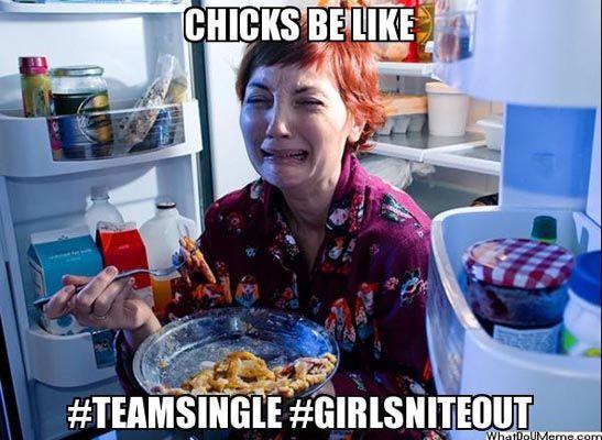 singles meme