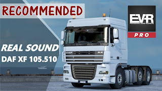 Sound Daf XF 105.510 Engine Voice Records