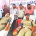 संकल्प सेवा समिति ने कल्याणपुर थाने में लगाया रक्तदान शिविर