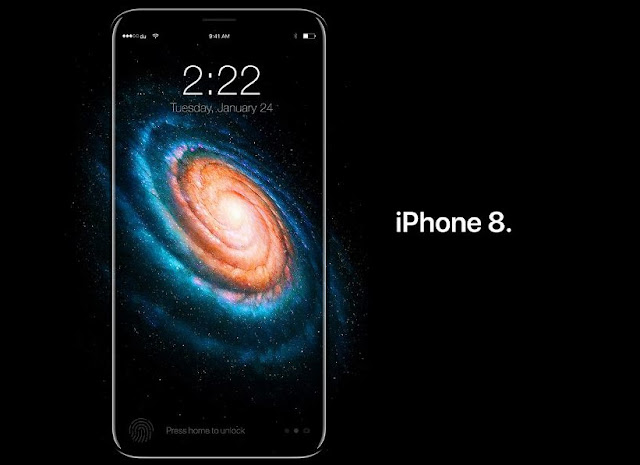 iPhone 8 or iPhone X will come with an OLED display featuring Wireless Charging, and Iris scanning technology that is iPhone users can unlock their device or use Apple Pay by authenticating with their eyes