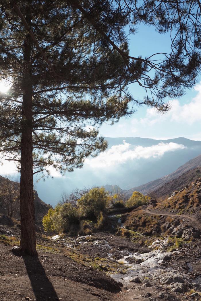 Randonnée à Imlil, dans le Haut Atlas, au Maroc