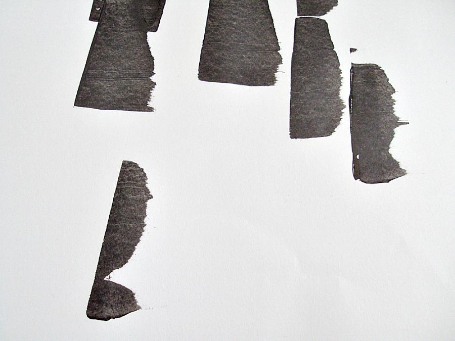 Wall birch art