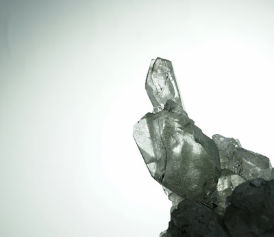 minéral de quartz du Mont-Blanc