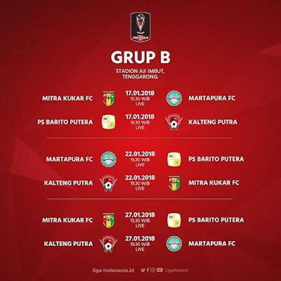 LIVE STREAMING Mitra Kukar Vs Martapura FC Indosiar