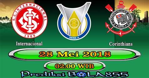 Prediksi Bola855 Internacional vs Corinthians 28 Mei 2018