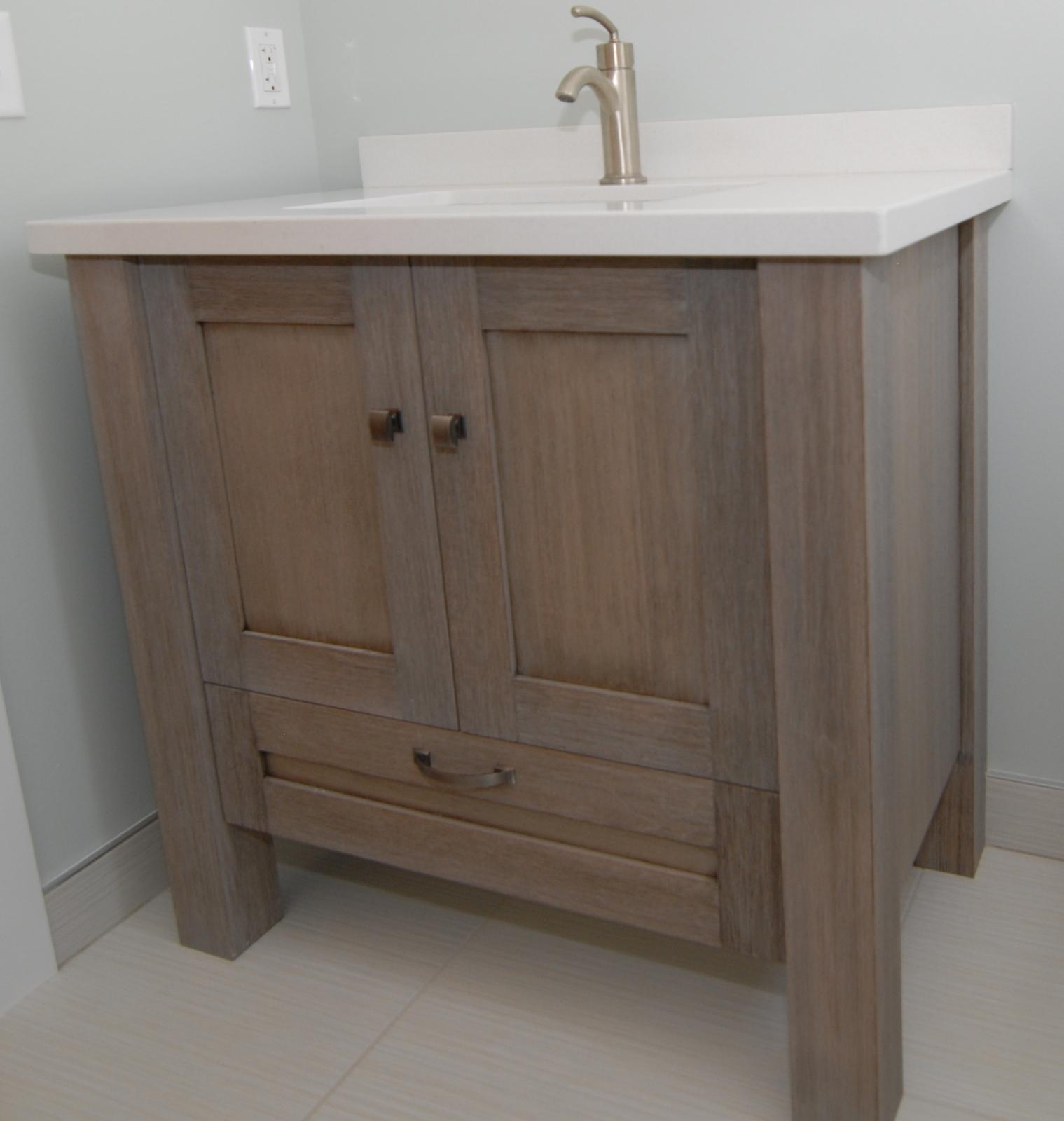 Enzy Living: Basement Bathroom After Photos