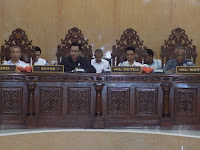 Feri Sofiyan Pimpin Paripurna Penyampaian Jawaban Walikota Bima Terhadap Tujuh Raperda