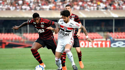 São Paulo 1 x 1 Flamengo - Campeonato Brasileiro 2019 rodada 3