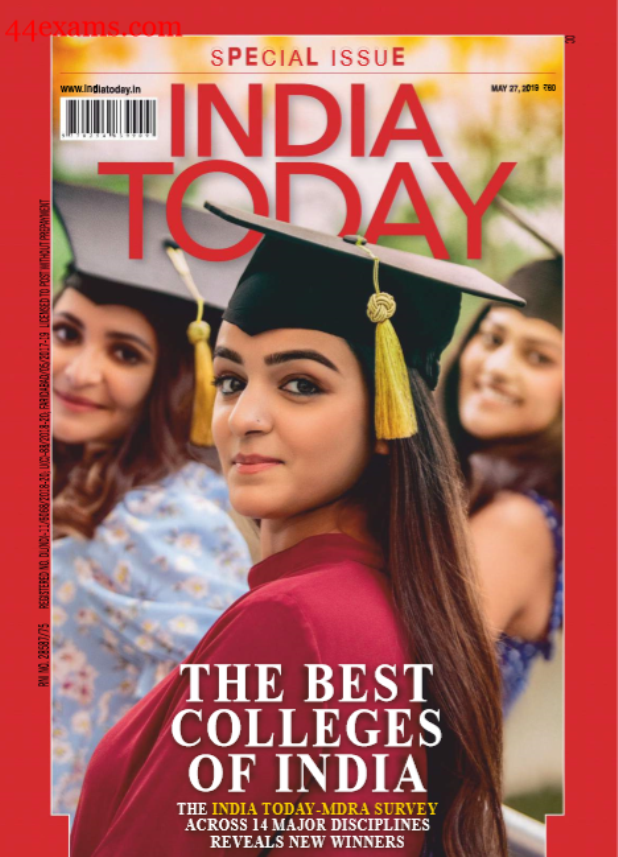India Today May 2019 Current Affairs : For All Competitive Exam PDF Book
