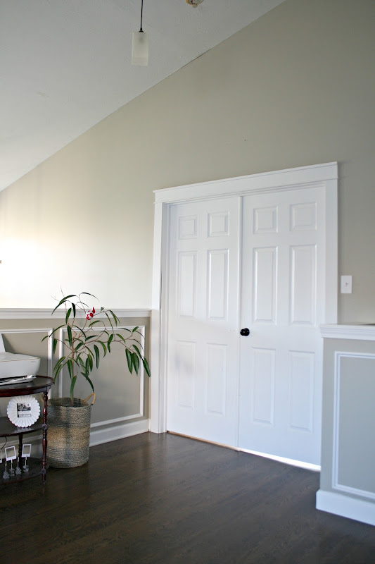 farmhouse trim around doors