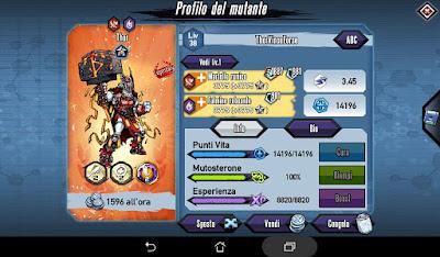 Mutants: Genetic Gladiators Breeding video N°200 (Thor - Thor)