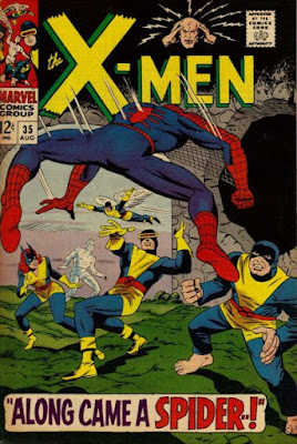 X-Men #35, Spider-Man