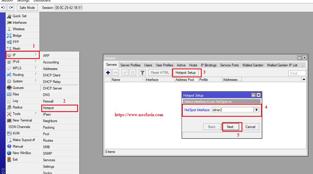 Konfigurasi Hotspot di Mikrotik Routerboard | NasFariz