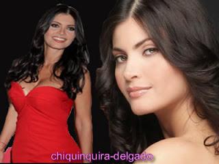 Sonrisa y vestido roja gala Chinquinquira delgado