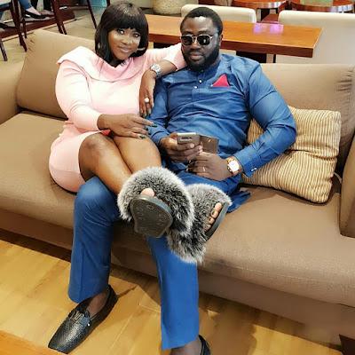 Actress, Mercy Johnson and Prince Odi Okojie keep giving us #Couplegoals