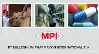 Lowongan Kerja PT. Millenium Pharmacon International Batam
