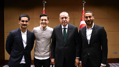 مفاجأة..بالصور أردوغان متهم بالتسبب في خروج ألمانيا من مونديال روسيا
