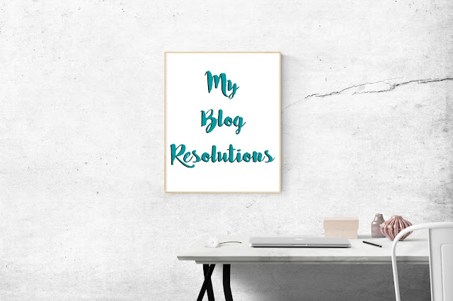 My Brand New Blog + My Blog Resolutions