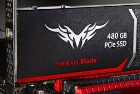 SSD 480GB dengan Interface PCIe Berkecepatan 2GBps