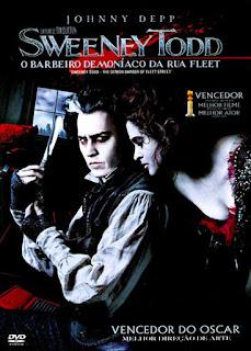 Sweeney Todd: O Barbeiro Demoníaco da Rua Fleet - DVDRip Dual Áudio