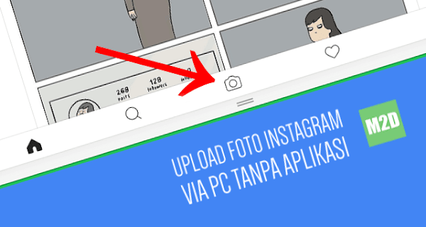 Upload Foto Instagram via PC atau Laptop