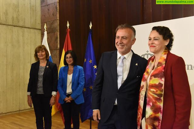El Gobierno autonómico y el Ministerio de Trabajo firman la transferencia a Canarias de los 42 millones del PIEC
