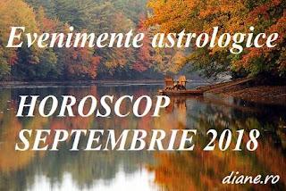 Evenimente astrologice în horoscopul septembrie 2018