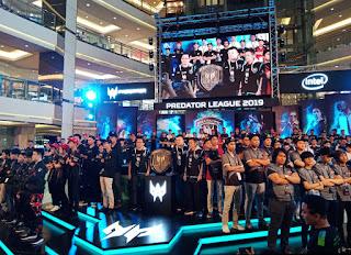 Tim Terpilih di Final Indonesia Asia Pasific Predator League