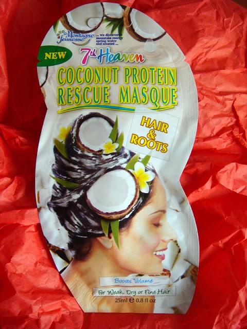 7th heaven mascarilla reparadora proteina coco