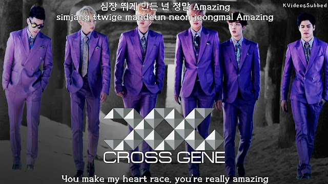 "Cross Gene ""Amazing Bad Lady"" Single"