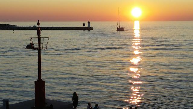 porec-istria-croatia sunset