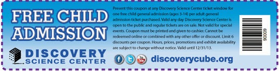 Discovery Cube Coupon >> Discovery Science Center Coupons Santa Ana Costco