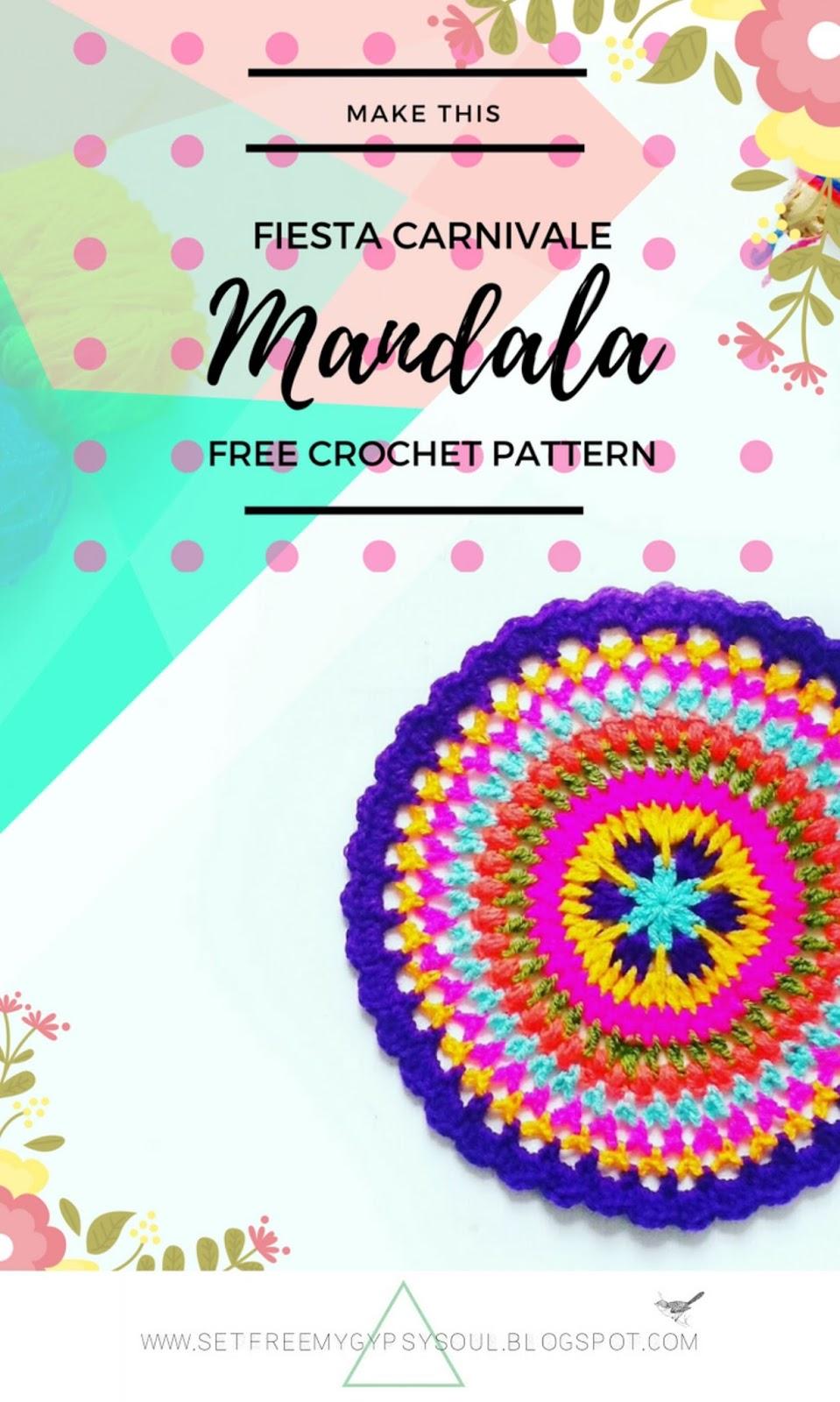 free mandala crochet pattern