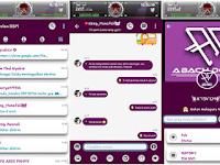 BBM MOD Purple Apk V3.2.0.6 Terbaru