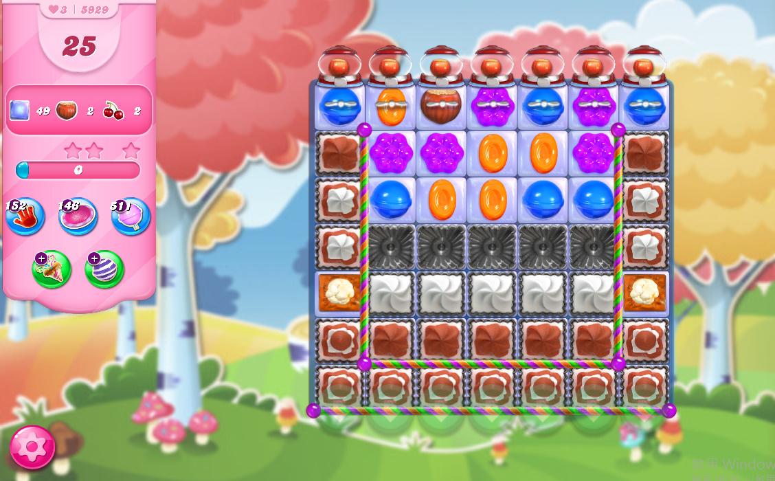 Candy Crush Saga level 5929