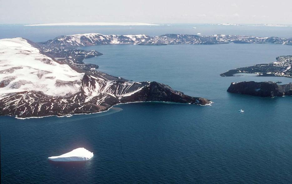 Lo Más Frío, Isla Decepción, Antártida 1