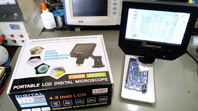 Microscópio digital G600 Mustool