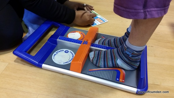 Brantano shoe measurement