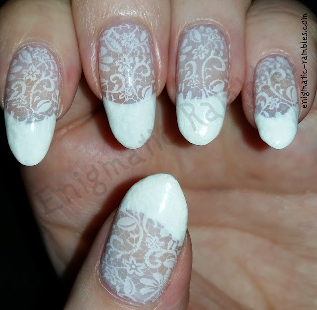 Bridal-Wedding-Nails-Nail-Art-Lace-stamped