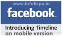 Facebook introduced timeline profile on all mobile version of facebook website,