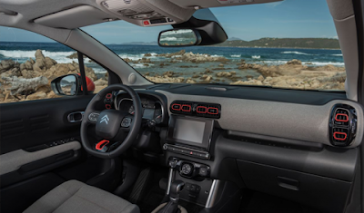 Citroën C3 Aircross dashboard