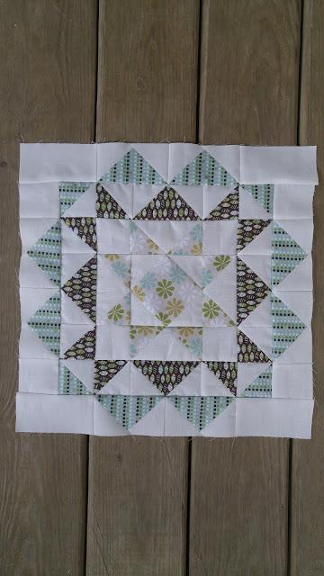 Rhinestones mini quilt