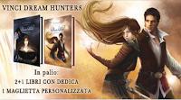 Logo Dream Hunters: vinci gratis libri e maglietta personalizzata