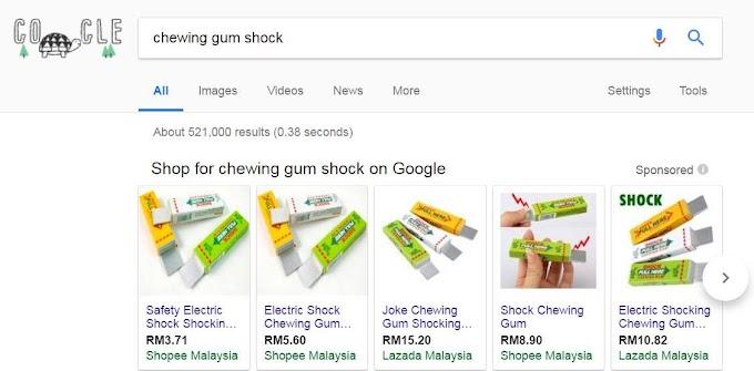 Pengharaman Alat Mainan Shock Chewing Gum