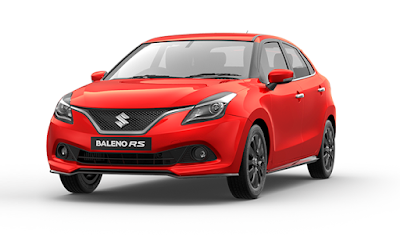 New 2017 Maruti Suzuki Baleno RS version