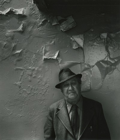 Aaron Siskind, NYC, 1976, foto por Arnold Newman | imagenes bellas, retratos vintage, cool stuff, pictures, pics, photos