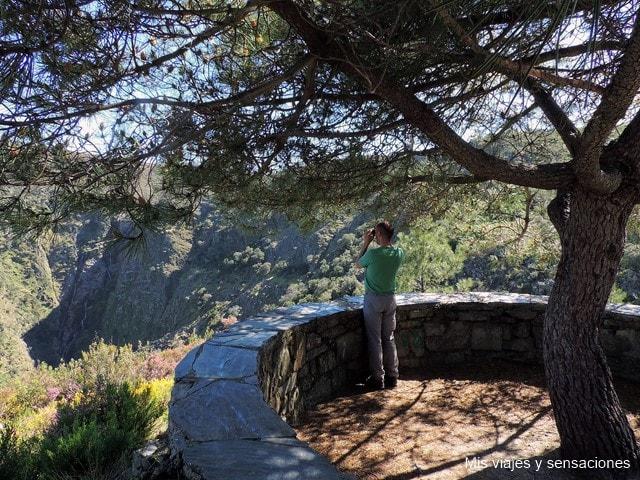 Mirador del Chorro de los Ángeles, Hurdes, Extremadura